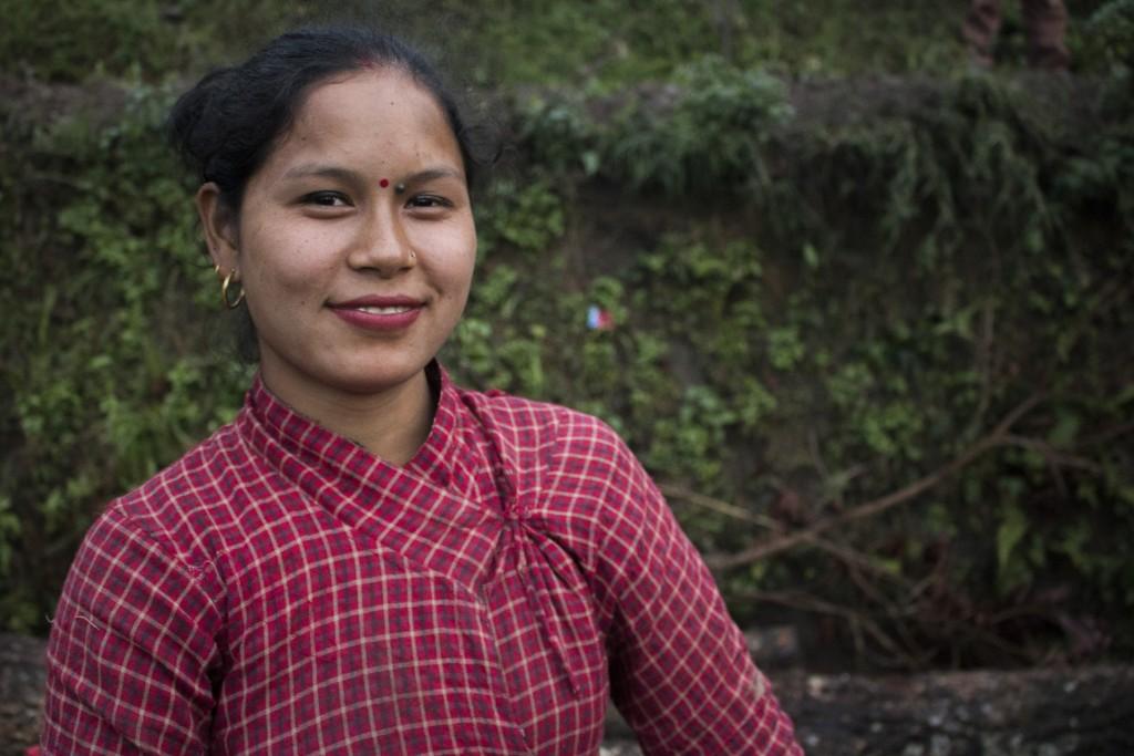 Kalpana Tamang, 23 years old.